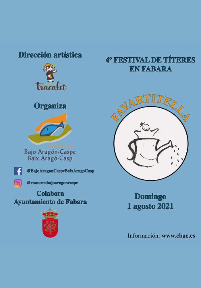 4º Festival de Títeres en Fabara