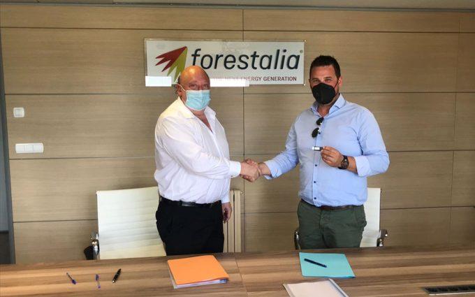 Forestalia y la Asociación del Altiplano acuerdan la construcción de 12 plantas fotovoltaicas en la provincia de Teruel