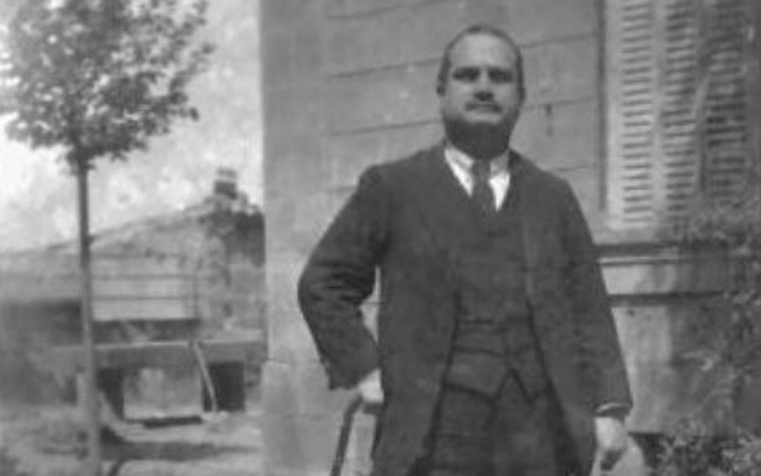 El músico Florencio Repollés Bielsa dirigió su coro y orquesta sacra desde que tenía 18 años.