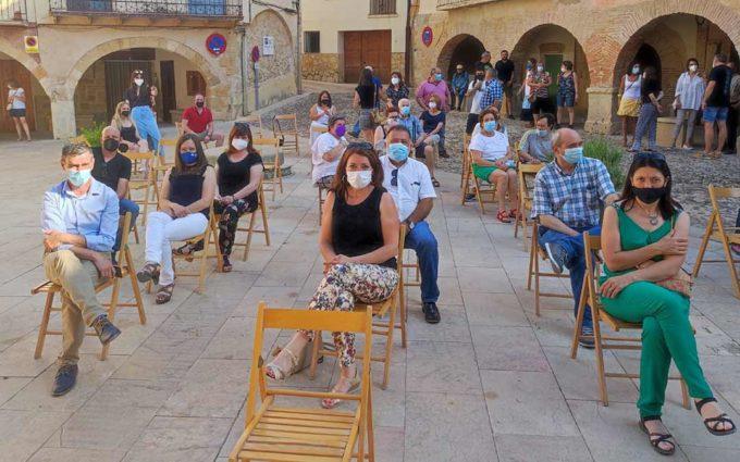 El PSOE Teruel despide con orgullo y nostalgia a Mateo Andrés