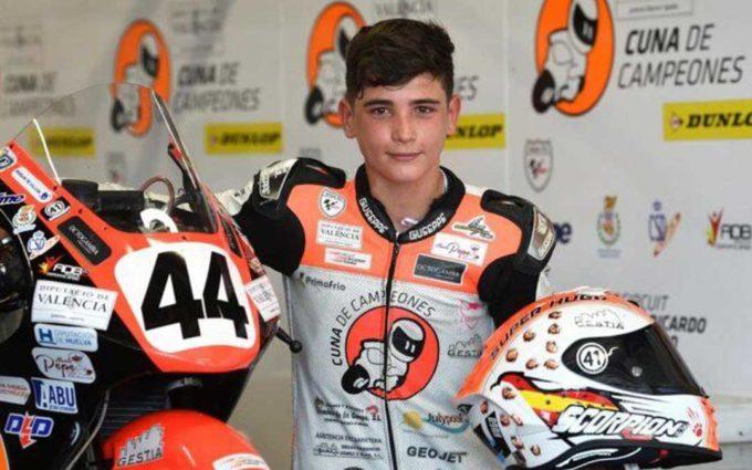 Huelva decreta tres días de luto por la muerte del joven piloto de motociclismo Hugo Millán