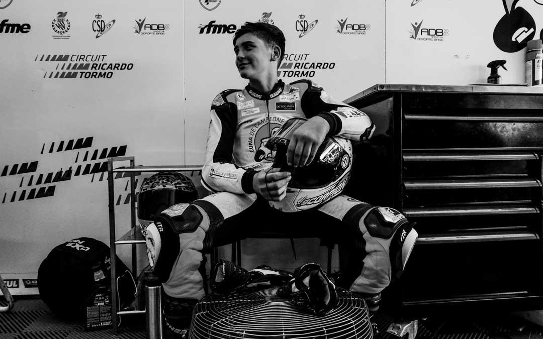 El joven piloto fallecido Hugo illán @cuna_campeones