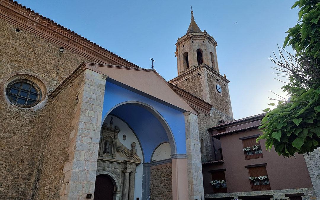 iglesia de san juan bautista en aliaga