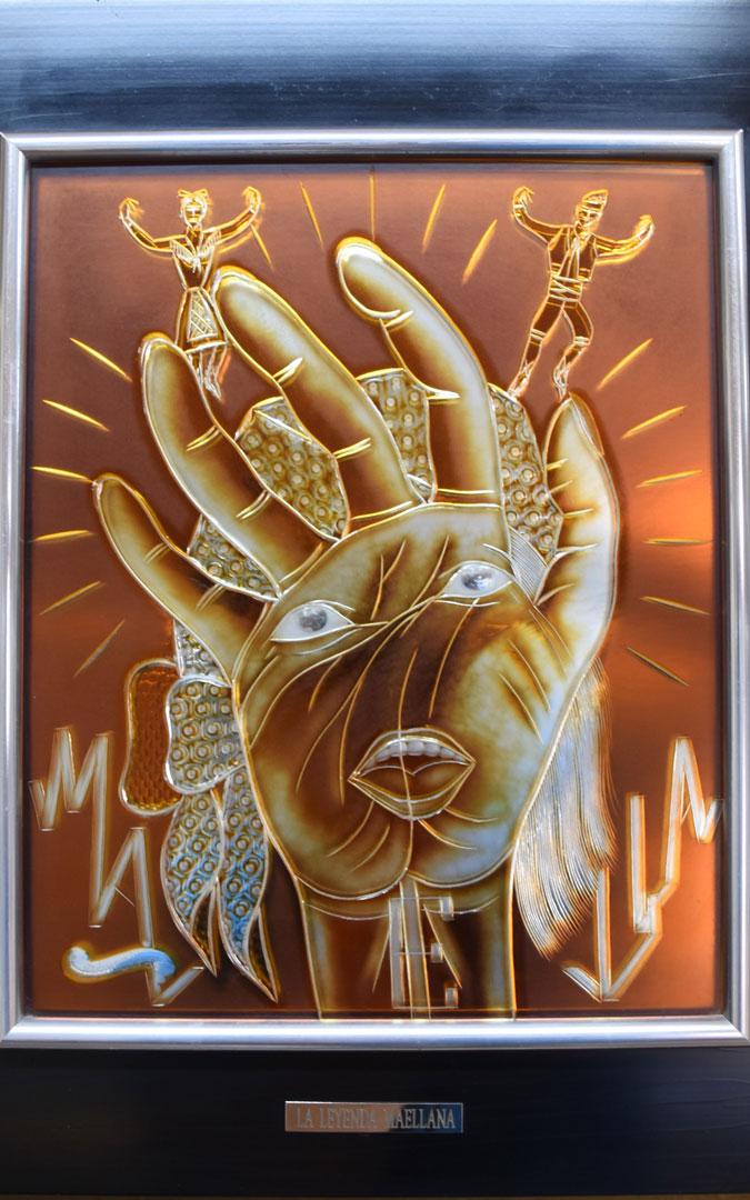'La leyenda maellana' es una de las obras de Pons Cirac / Centro de Estudios Maellanos