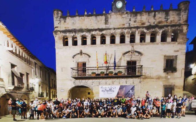 Un centenar de personas participan en una nueva edición de la Marcha de las Estrellas