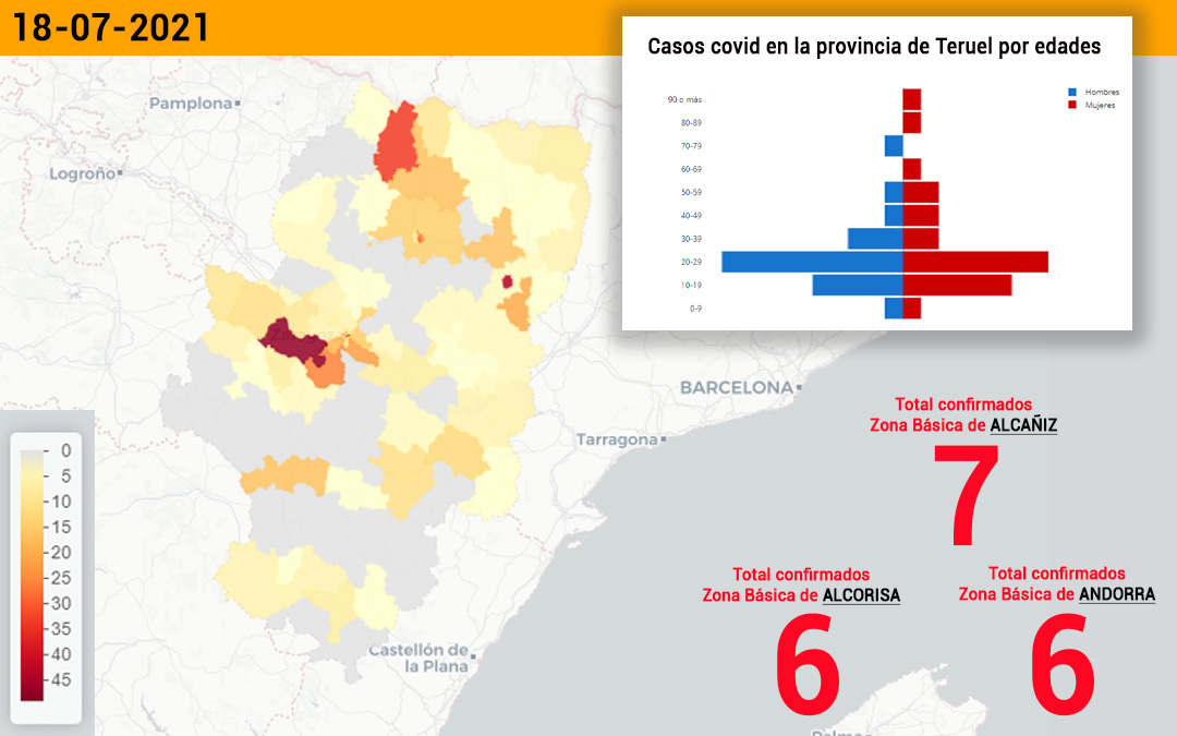 El sector sanitario de Alcañiz ha notificado este lunes 29 casos de coronavirus./ L.C.