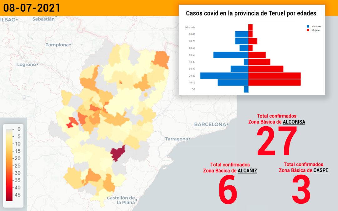 La zona básica de Alcorisa ha registrado 27 casos de coronavirus./ L.C.