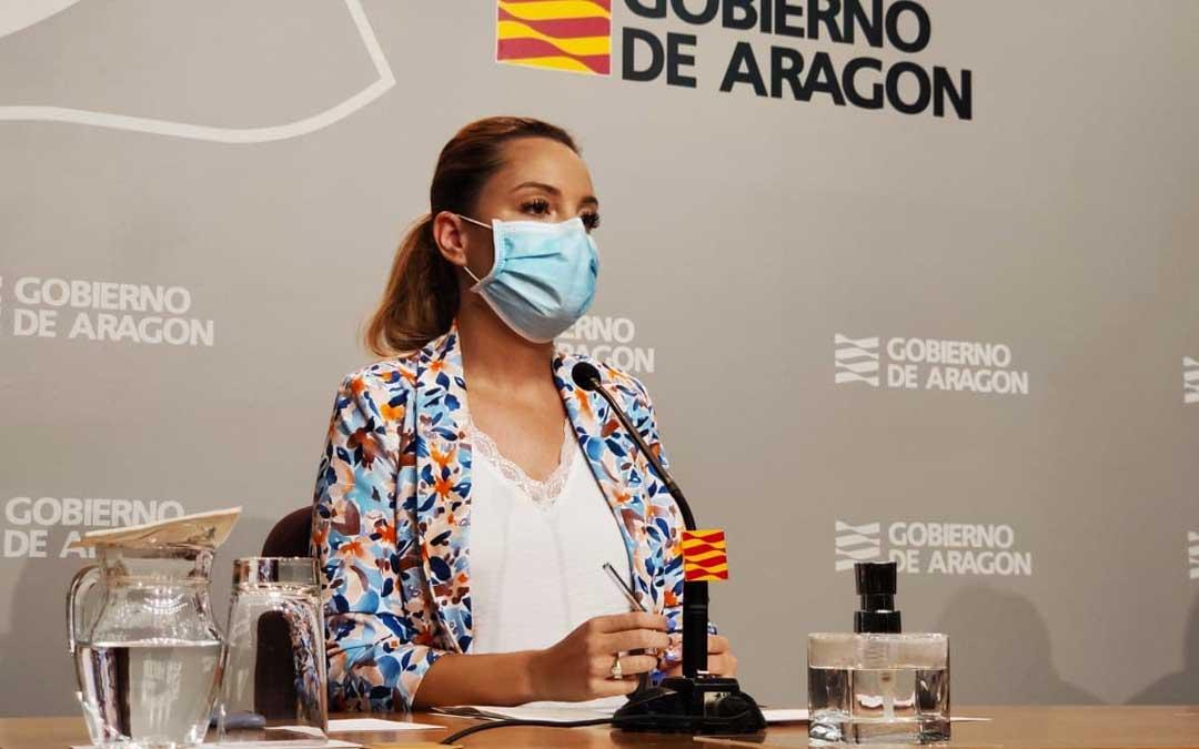 La consejera Maru Díaz ha presentado hoy la prórroga del ConectAragón / DGA