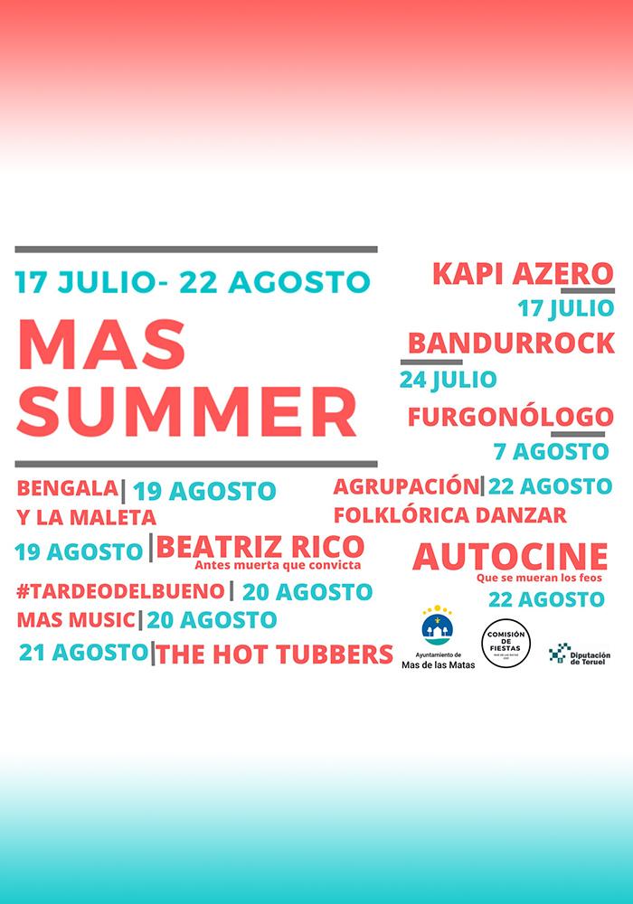'Mas Summer' en Mas de las Matas