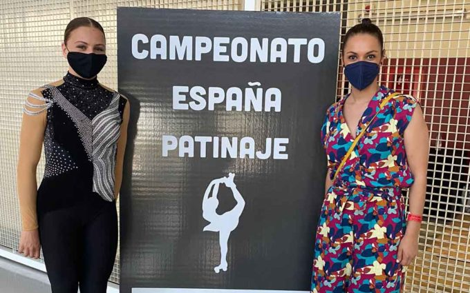 Ariadna Sanz finaliza 10ª en el Campeonato de España de Patinaje Artístico en la categoría cadete