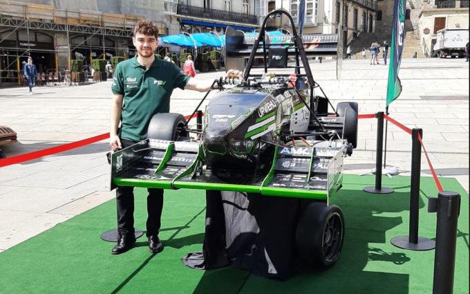 Paúl Ros, un alcorisano en Oxford para llegar hasta la Fórmula 1