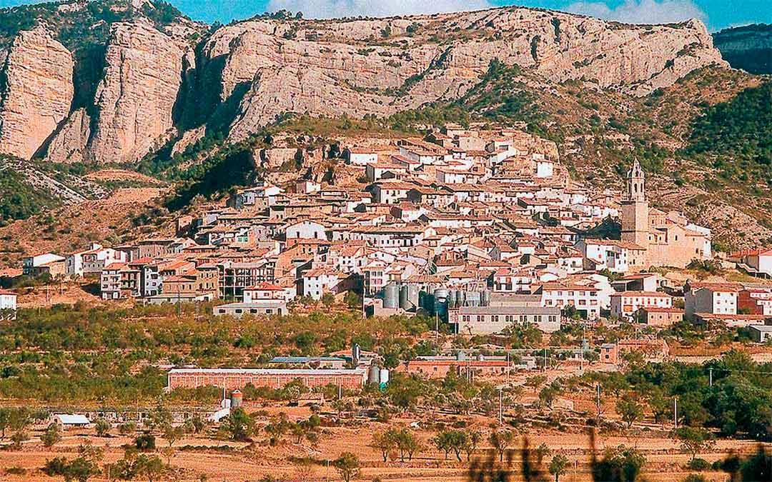 Imagen de Peñarroya de Tastavins, localidad natal de Desideri Lombarte./ L.C.