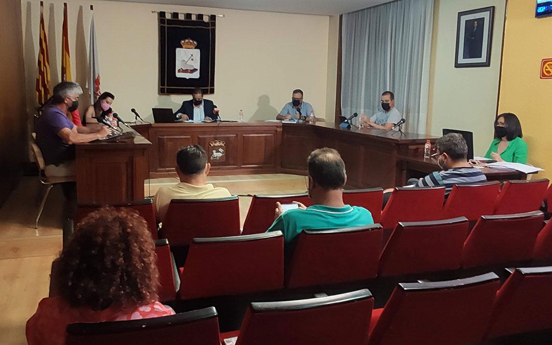 Pleno ordinario del mes de julio del Ayuntamiento de Andorra./ Ayto. Andorra
