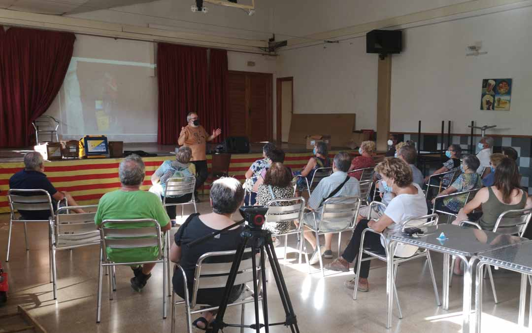 La Portellada es una de las localidades que acogió una charla informativa el martes. G.S.