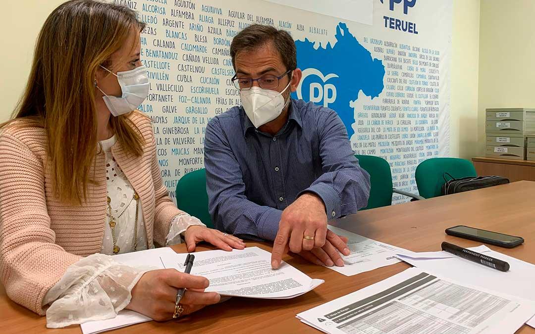 El portavoz del Partido Popular en la institución provincial, Carlos Boné, ha reclamado el apoyo de la institución provincial a un importante esencial en la provincia./ PP Teruel