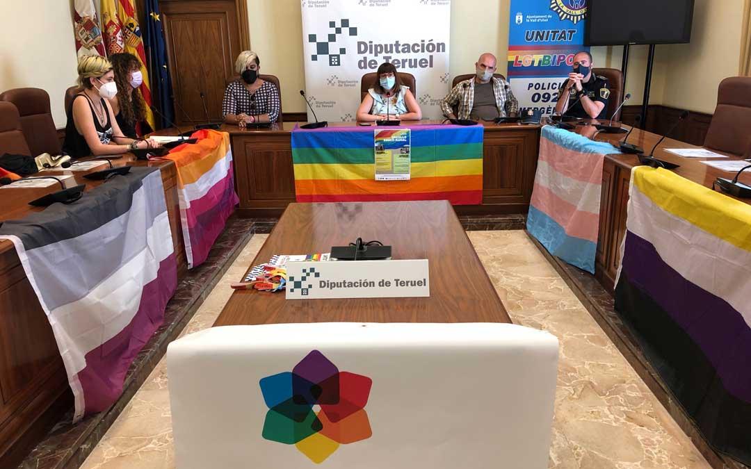 """Rueda de prensa de presentación de la primera jornada """"Orgullo educo-rural"""" este miércoles / DPT"""