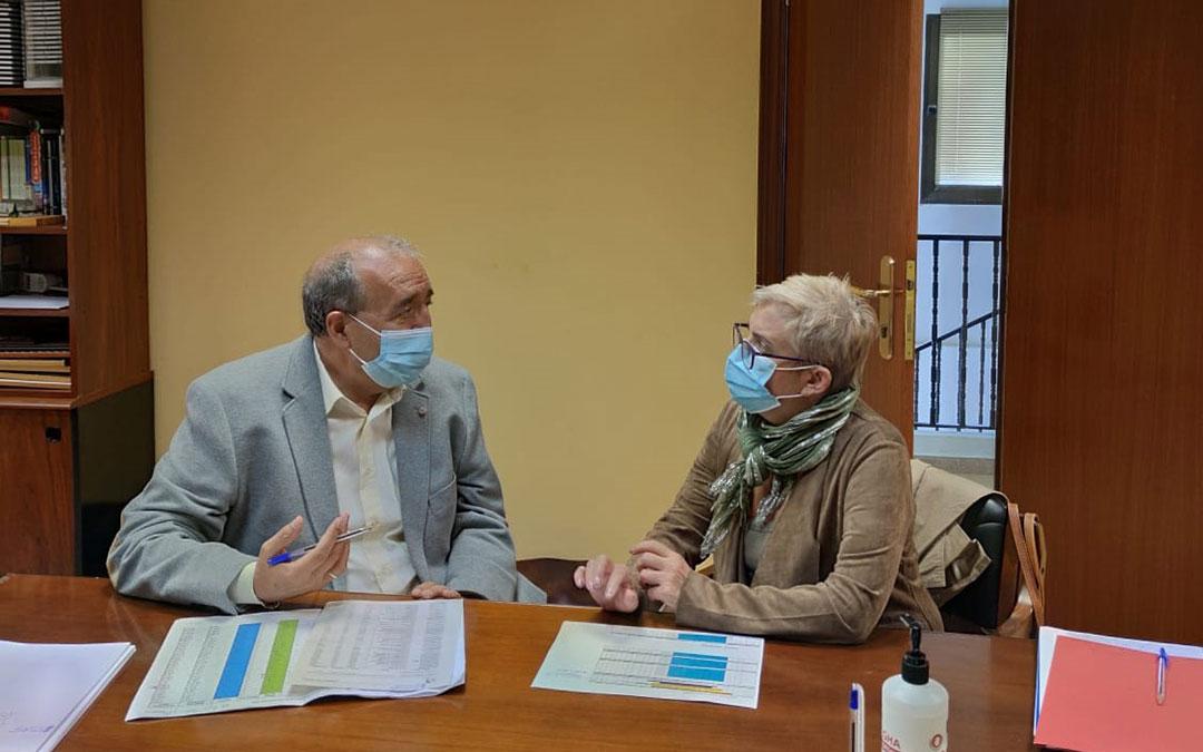 Manuel Rando y Rosario Pascual en la DPT. / DPT