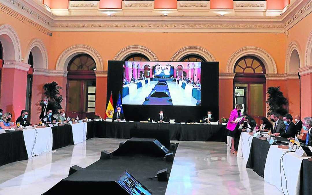 Conferencia Sectorial de Agricultura, celebrada ayer de manera presencial en el Ministerio./ Heraldo- EP