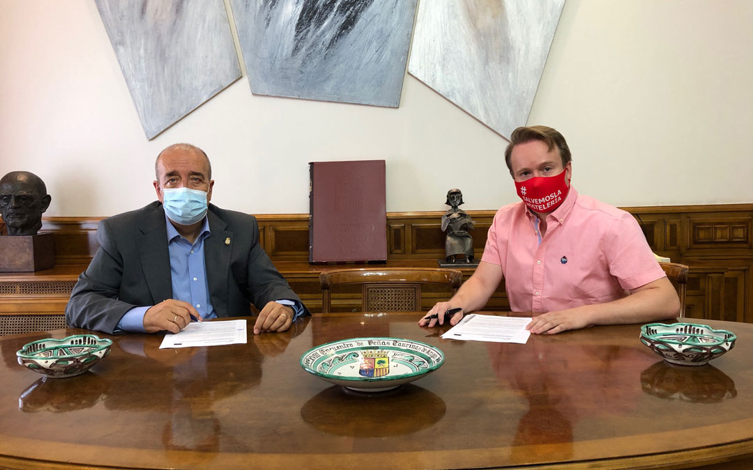 Manuel Rando y Roche Murciano. / DPT