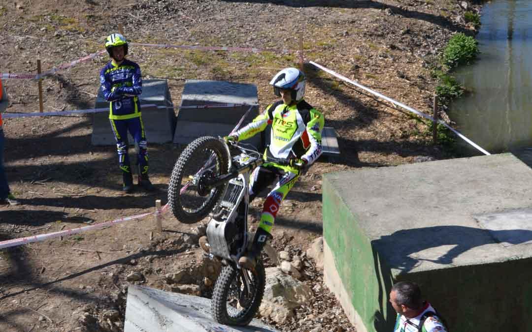 El trial de Foz Calanda inaugura el campeonato regional de esta modalidad deportiva. Foto. J.V.