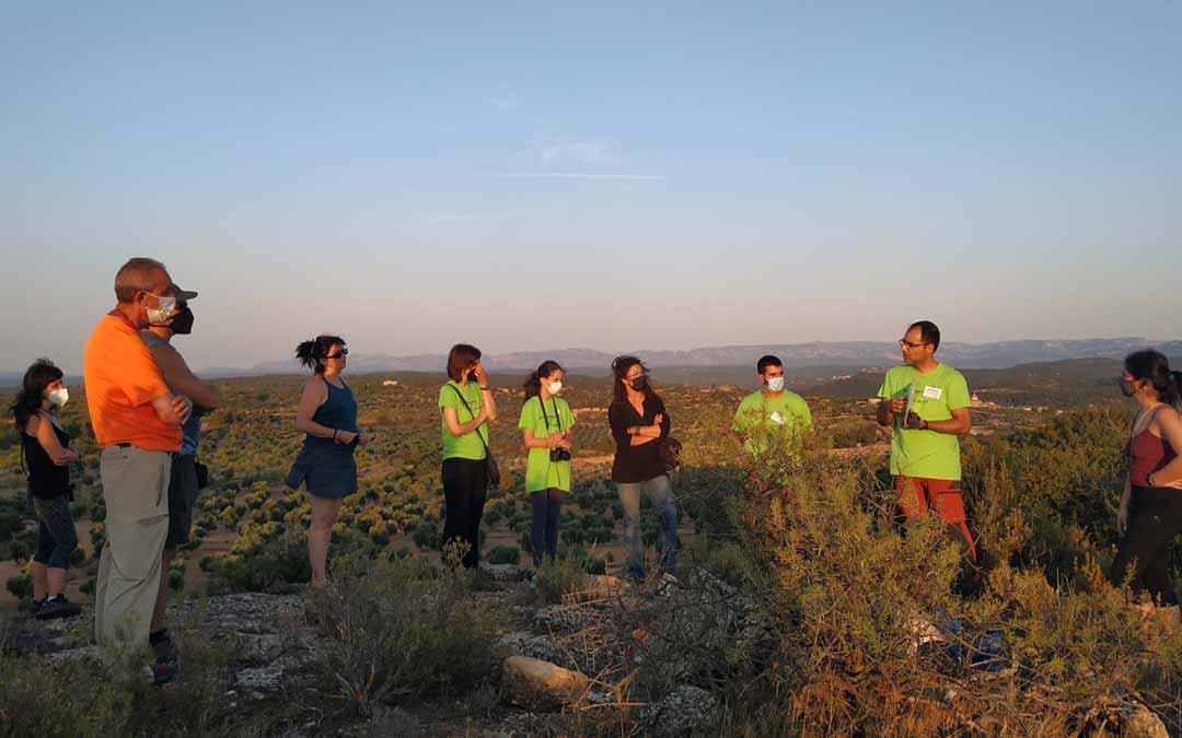 El entorno de Valjunquera fue protagonista del I Rallye Fotográfico. E.M.