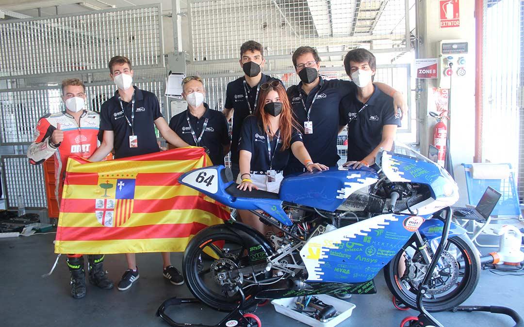 El equipo MotoStudent Unizar terminó segundo en la categoría Petrol / Eduard Peralta