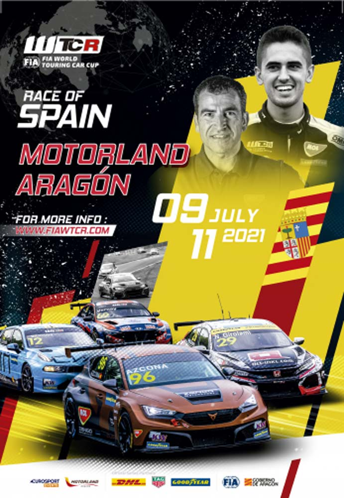 WTCR Race of Spain 2021. FIA World Touring Car Cup