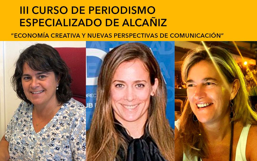 Camino Ibarz (Grupo Térvalis), Diana Marchante (dircom ADEA) y Ángeles Sancho (Prensa secretaría Ministerio Economía) / L.C