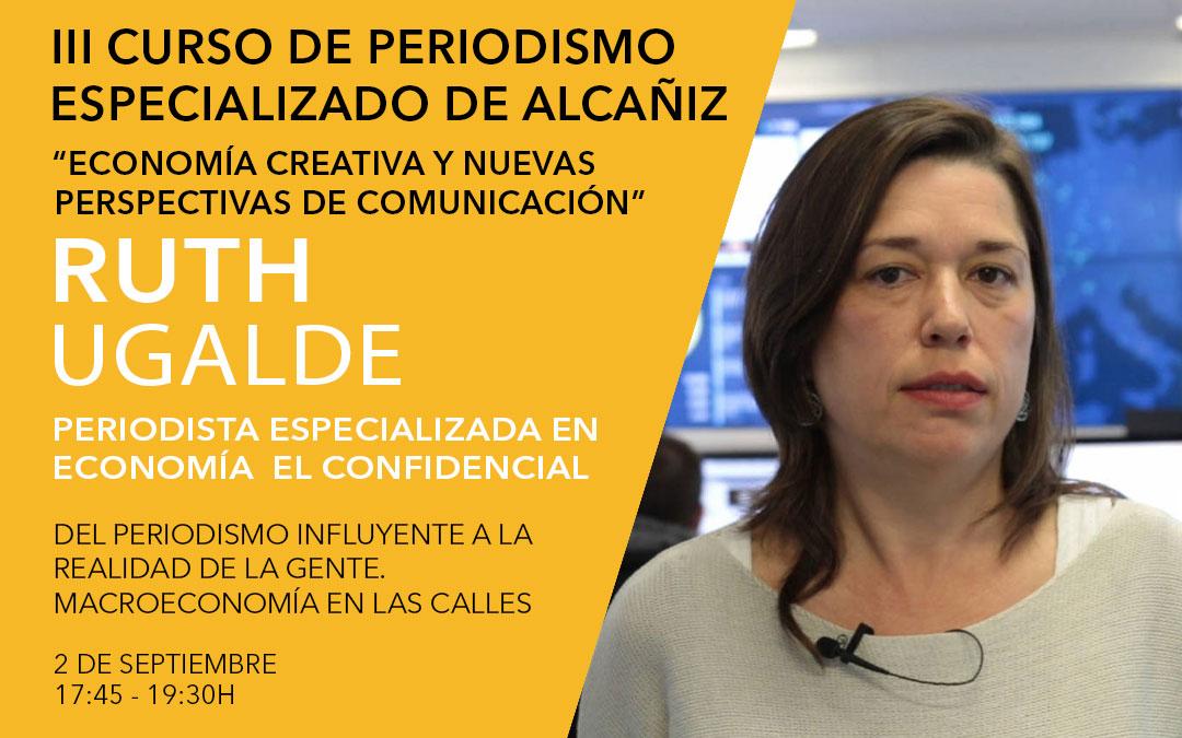 Ruth Ugalde, periodista especializada en economía en El Confidencial / L.C