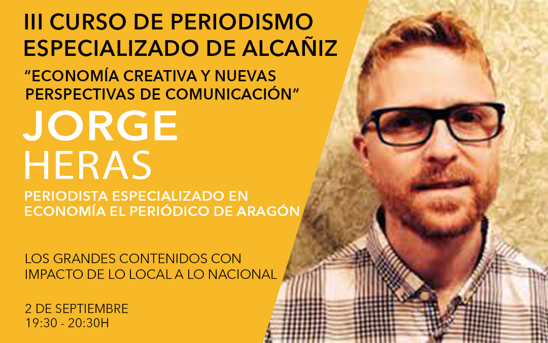 Jorge Heras, periodista económico en El Periódico de Aragón / L.C