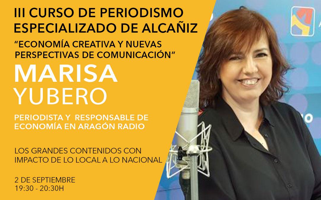 Marisa Yubero, equipo del programa económico de Aragón Radio / L.C