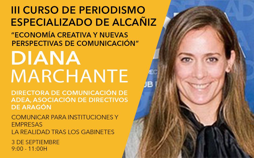 Diana Marchante, directora de comunicación y marketing en Asociación de Directivos y Ejecutivos de Aragón / L.C