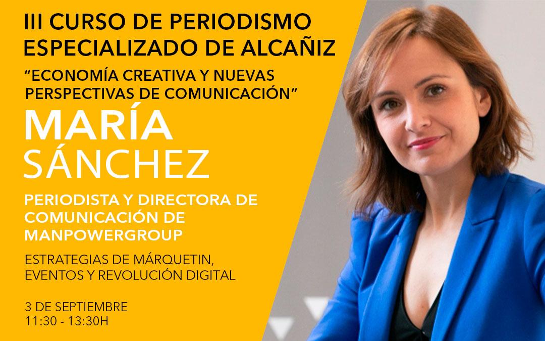 María Sánchez, directora de comunicación en ManPowerGroup / L.C