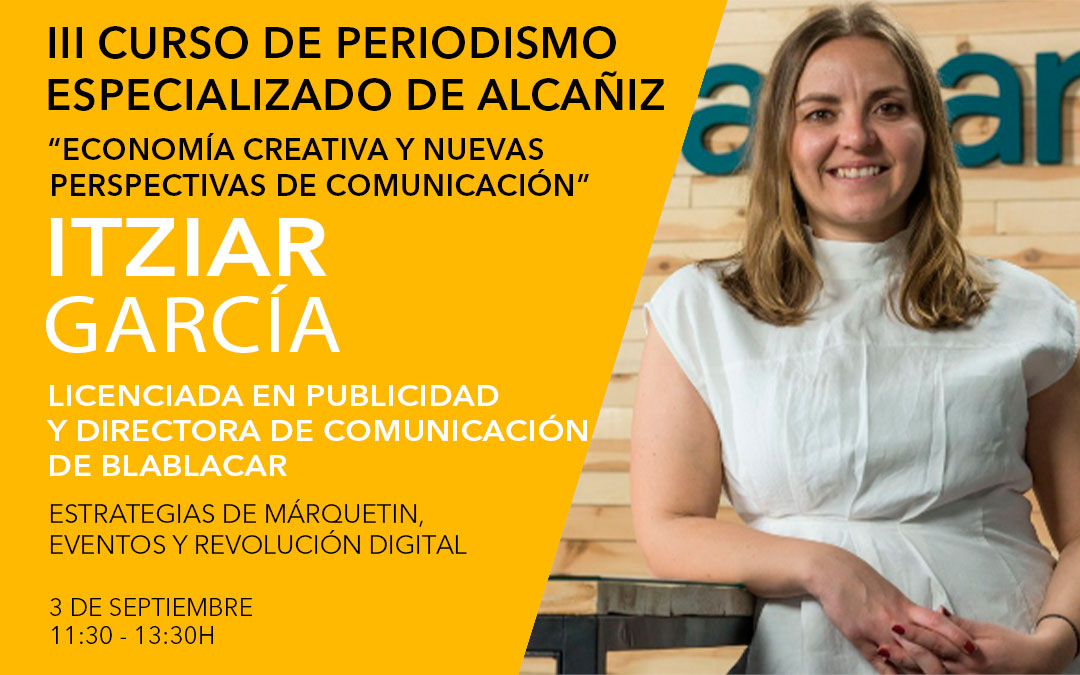 Itziar García, directora de comunicación y de relaciones institucionales en BlaBlaCar España y Portugal / L.C.