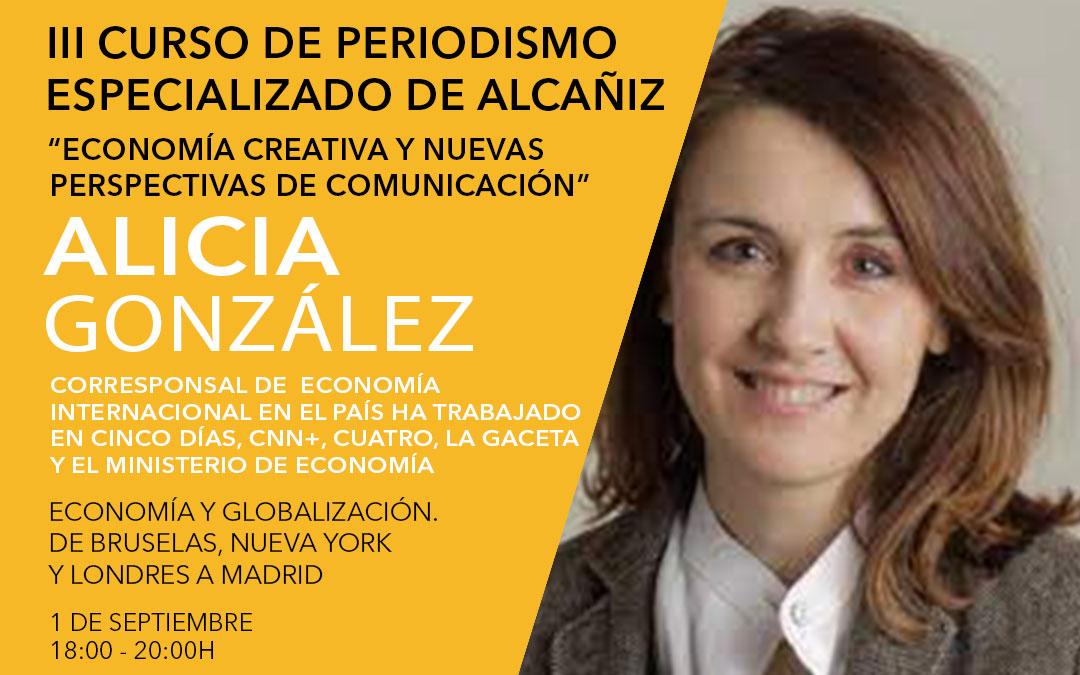 Alicia González, corresponsal de economía internacional en El País / L.C