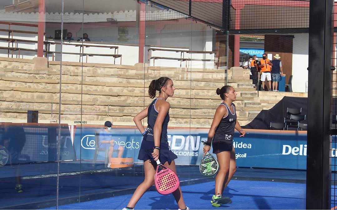 Marta Talaván y Lorena Rufo cayeron derrotadas en semifinales / Eduard Peralta