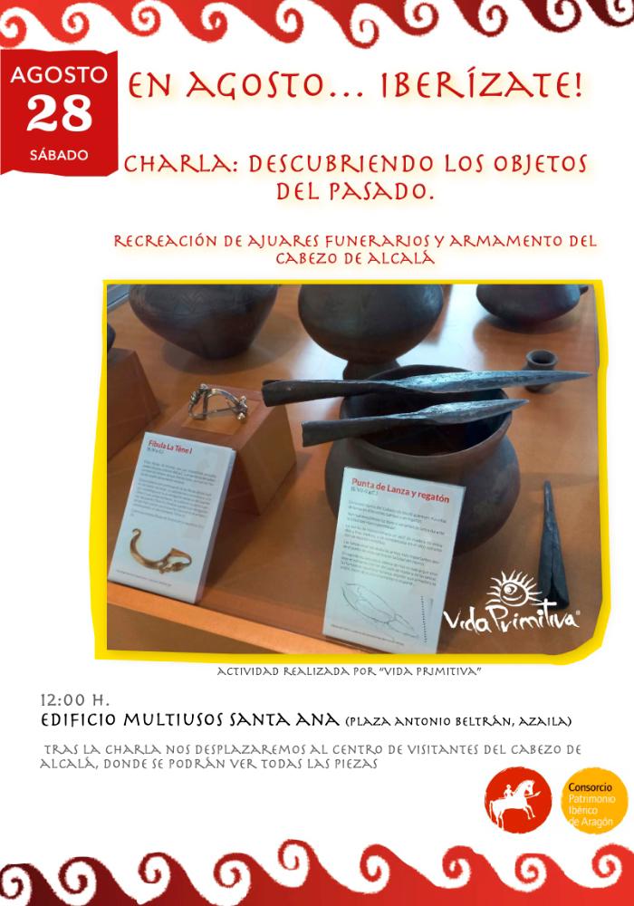 'Descubriendo los objetos del pasado' en Azaila