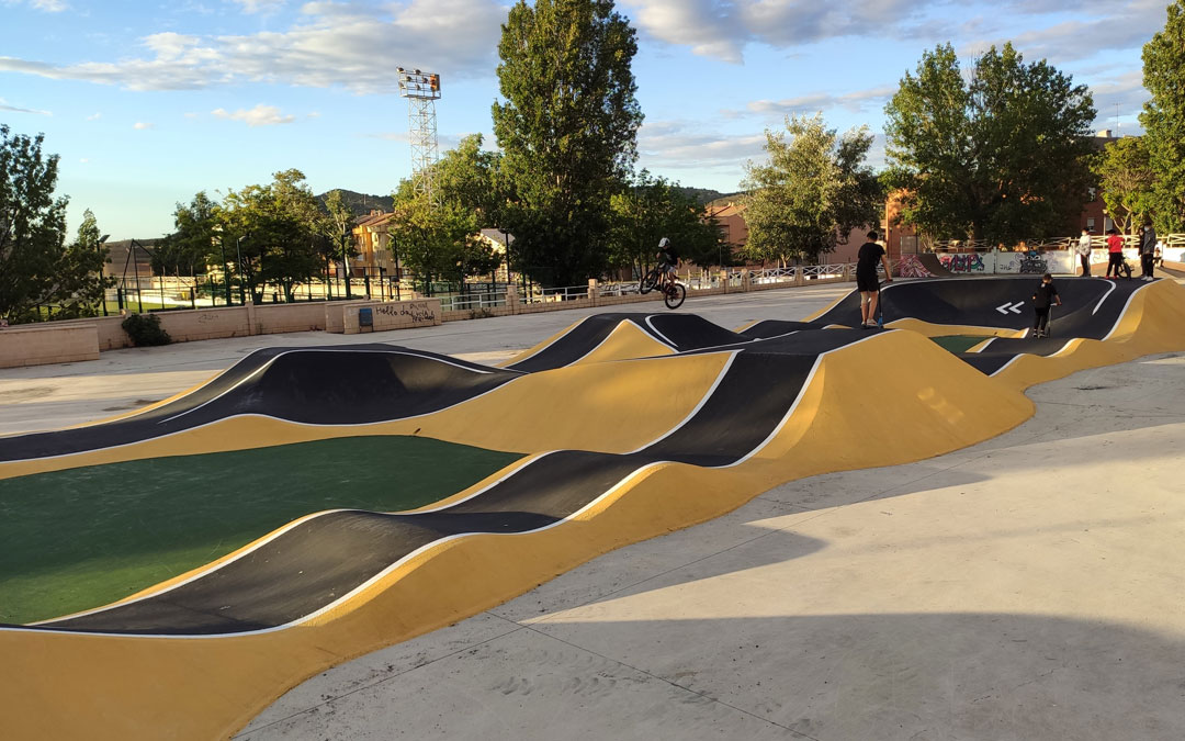 Circuito de 'pump track' en Andorra. / Ayto. Andorra