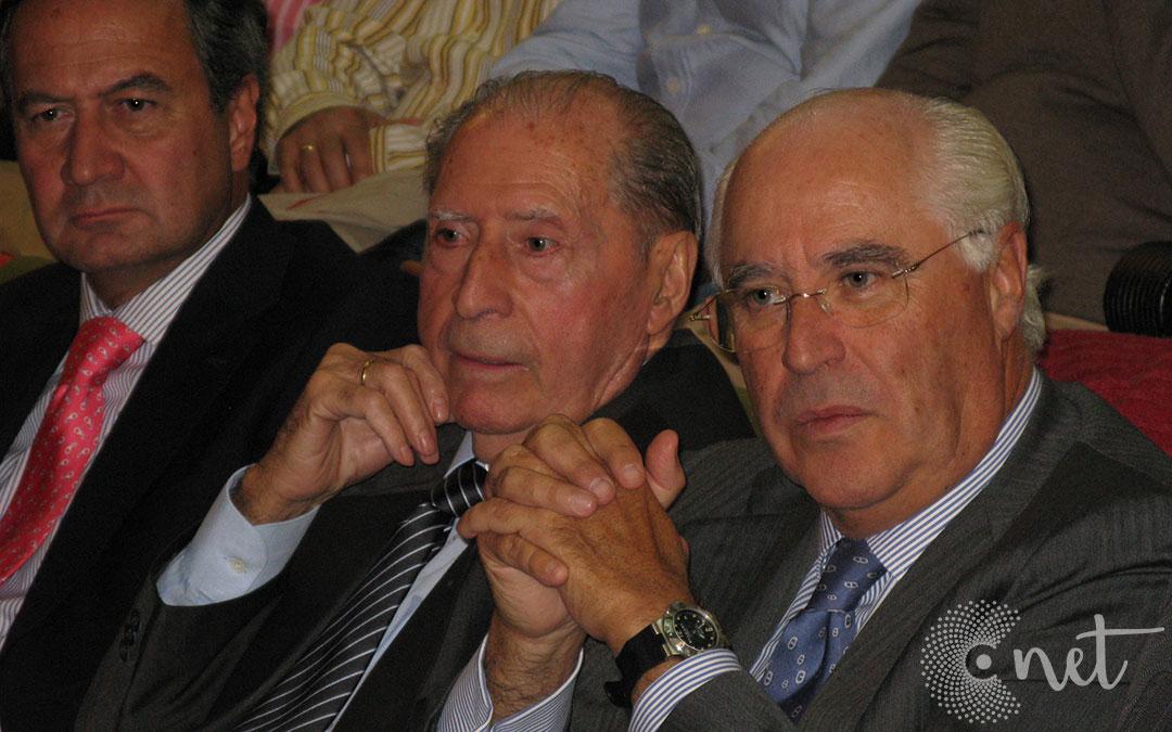 Ángel Luengo en la Casa de Cultura de Andorra en el Congreso Internacional sobre Patrimonio Geológico y Minero celebrado en 1999./ La COMARCA