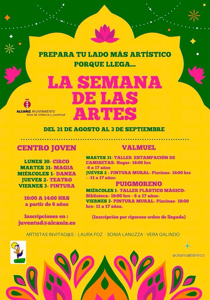 'La semana de las artes' en Alcañiz