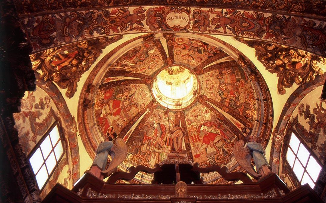Cúpula de la ermita del Calvario de Alloza