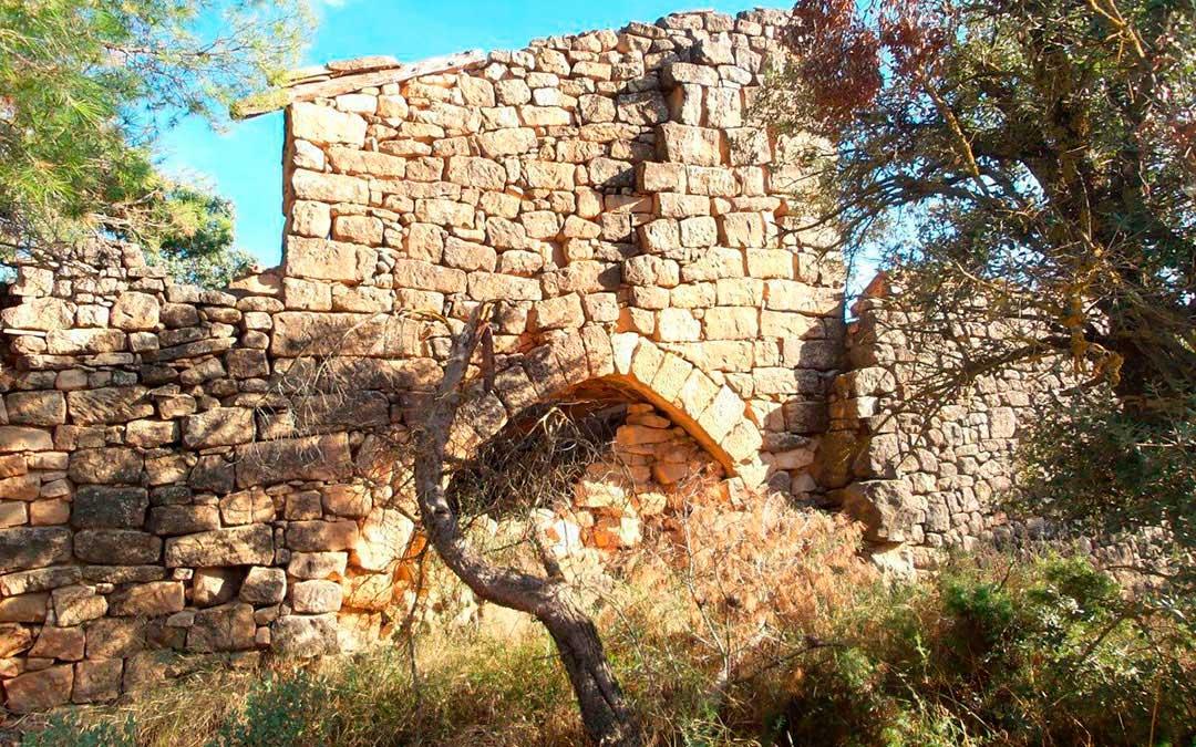 La Torre del Penal (Valderrobres) se encuentra en estado de abandono / Lista Roja Hispania Nostra