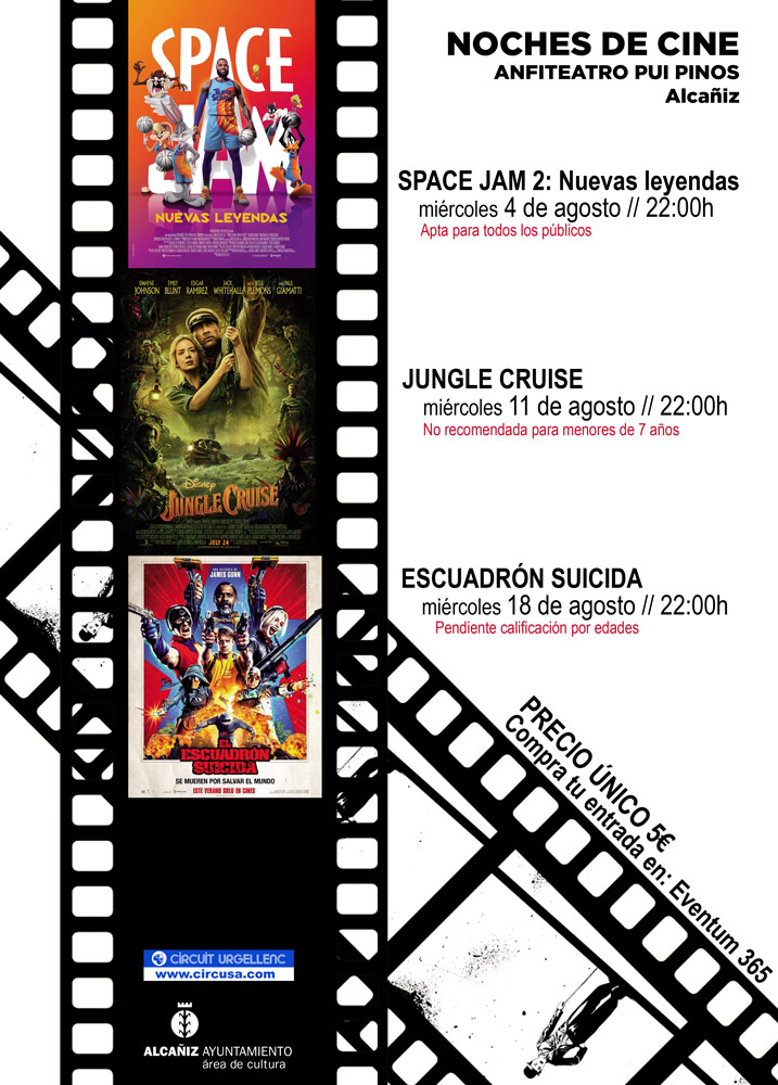 Noches de Cine en Alcañiz