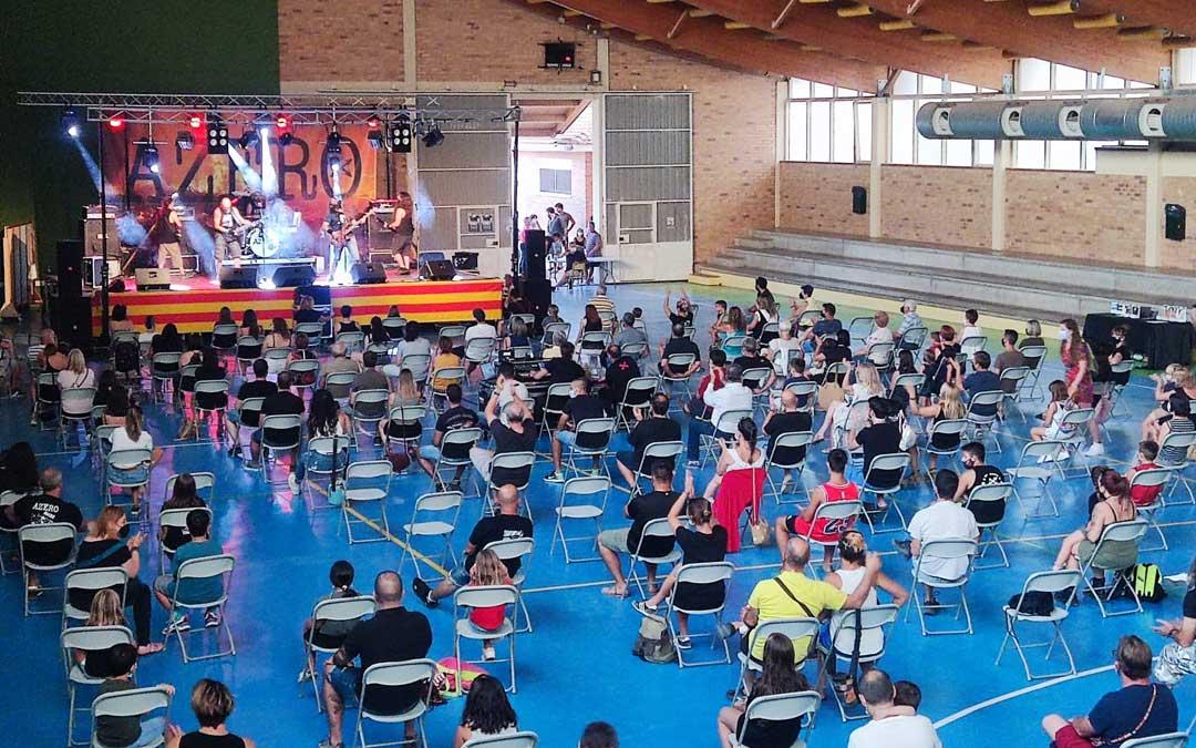 Concierto de los Azero en Castelserás. / Azero
