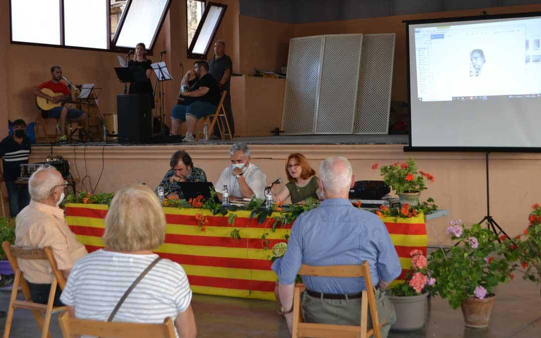 La conferencia de Clemente Alonso tuvo lugar el sábado por la tarde. Foto. J.V.
