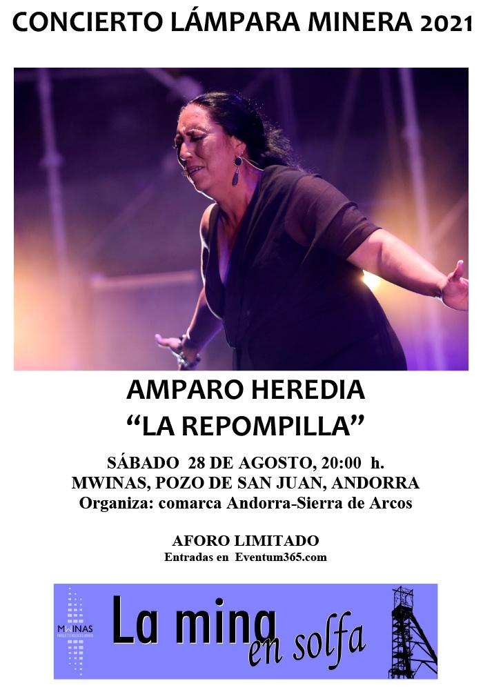 Amparo Heredia, 'La Repompilla' en Andorra