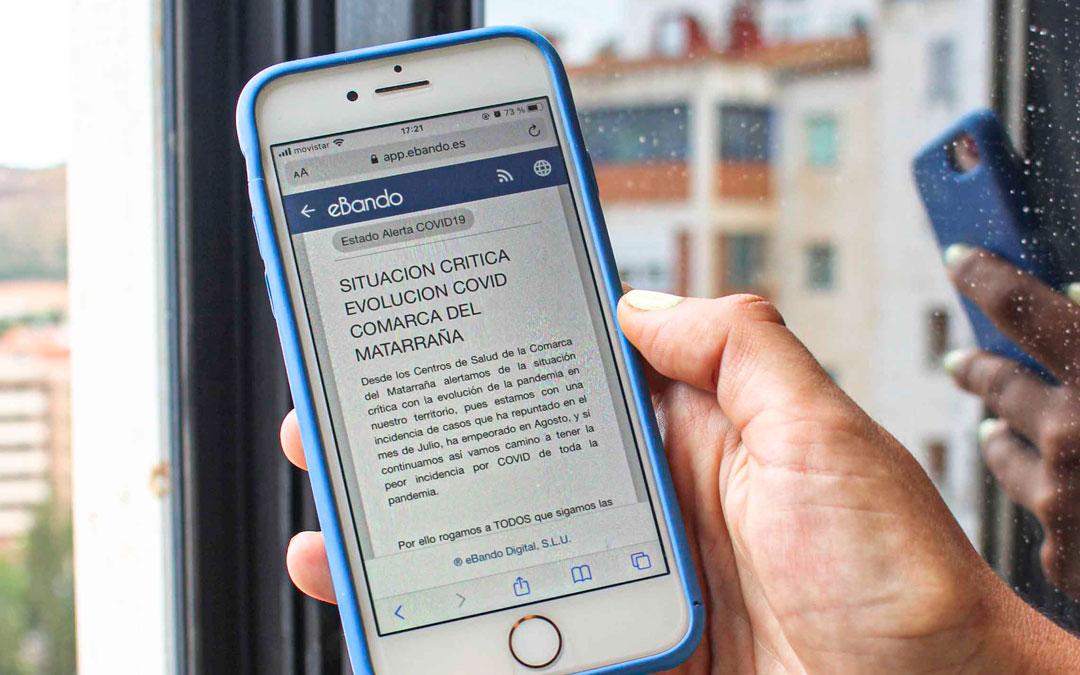 Bando con recomendaciones de los centros de salud del Matarraña que comparten en sus redes sociales y bandos los pueblos de la comarca / L.C.