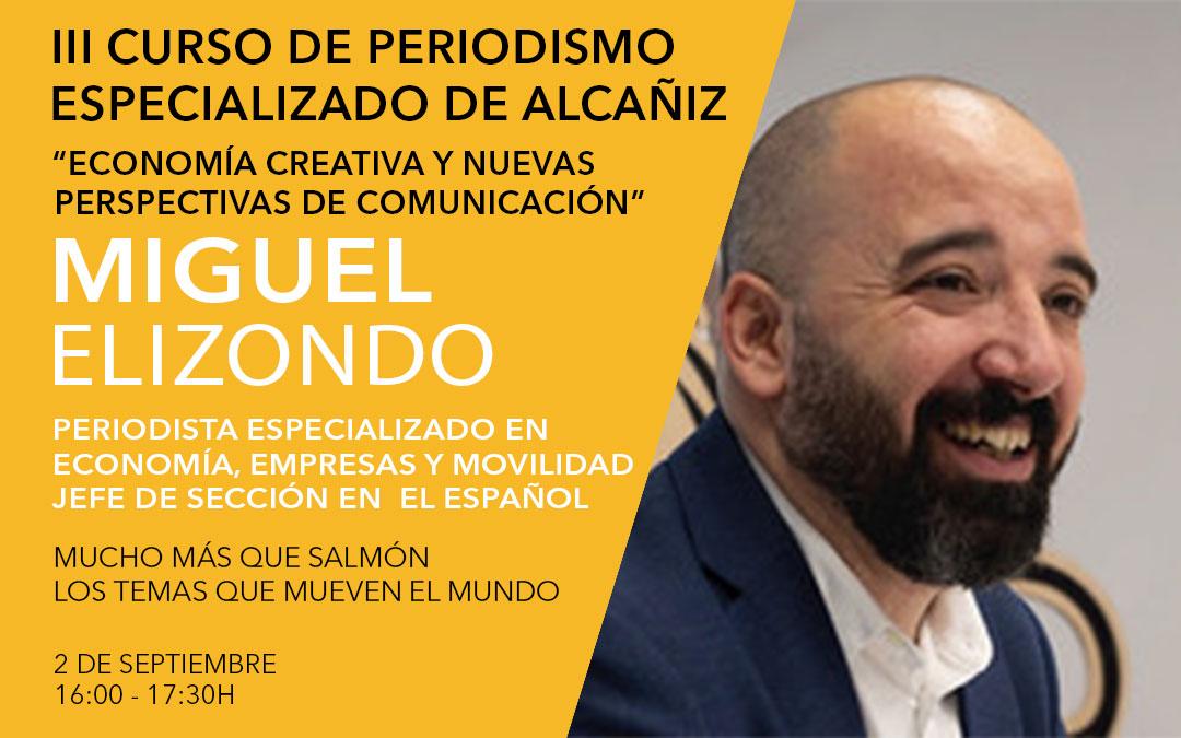 Miguel Elizondo, periodista económico y jefe de sección en El Español./ L.C.