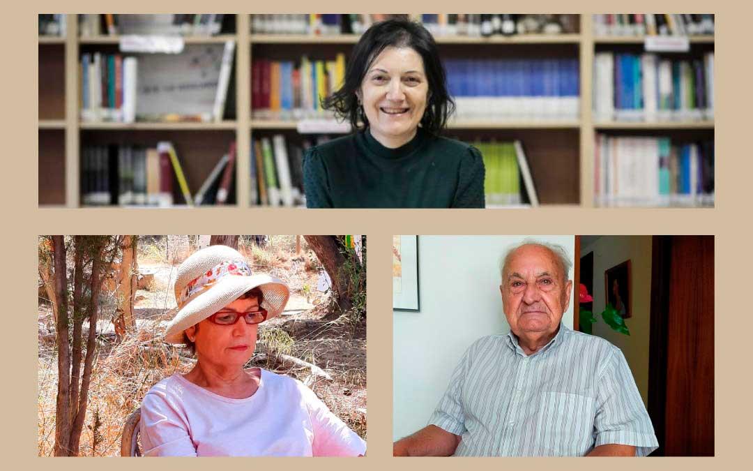 Carmen Alcover, Mercedes Llop y José Bada son tres de los miembros de la Academia Aragonesa de la Lengua / La Comarca