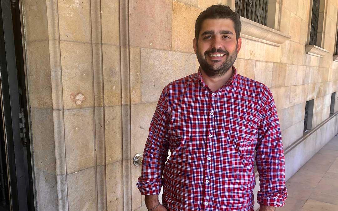Diego Piñeiro, diputado de Cultura de la DPT./ DPT